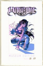 Witchblade #8 Museum Edition Michael Turner Cover Ltd 25 Jay Company Comics